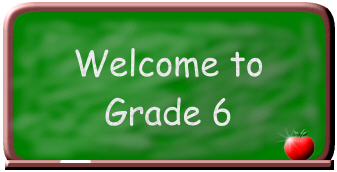 Image result for Welcome to 6th Grade Sign