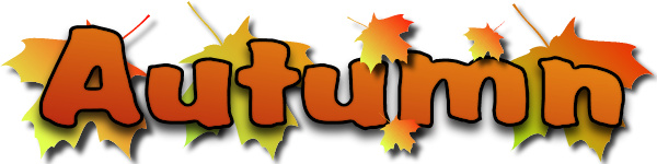 Free Fall - Autumn Clip Art