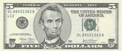 five dollar clipart - photo #7